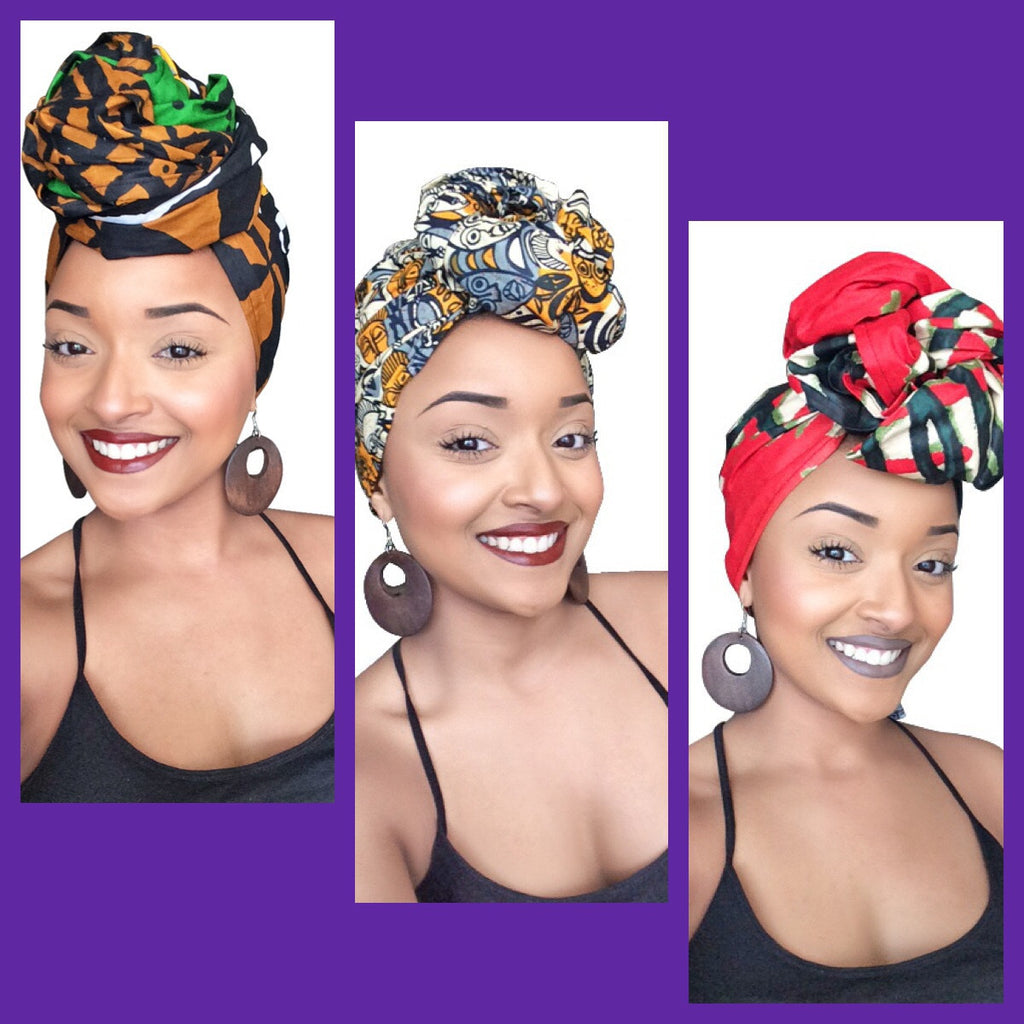 Default type -  - The Hannah Headwrap Collection - Glamorous Chicks Cosmetics