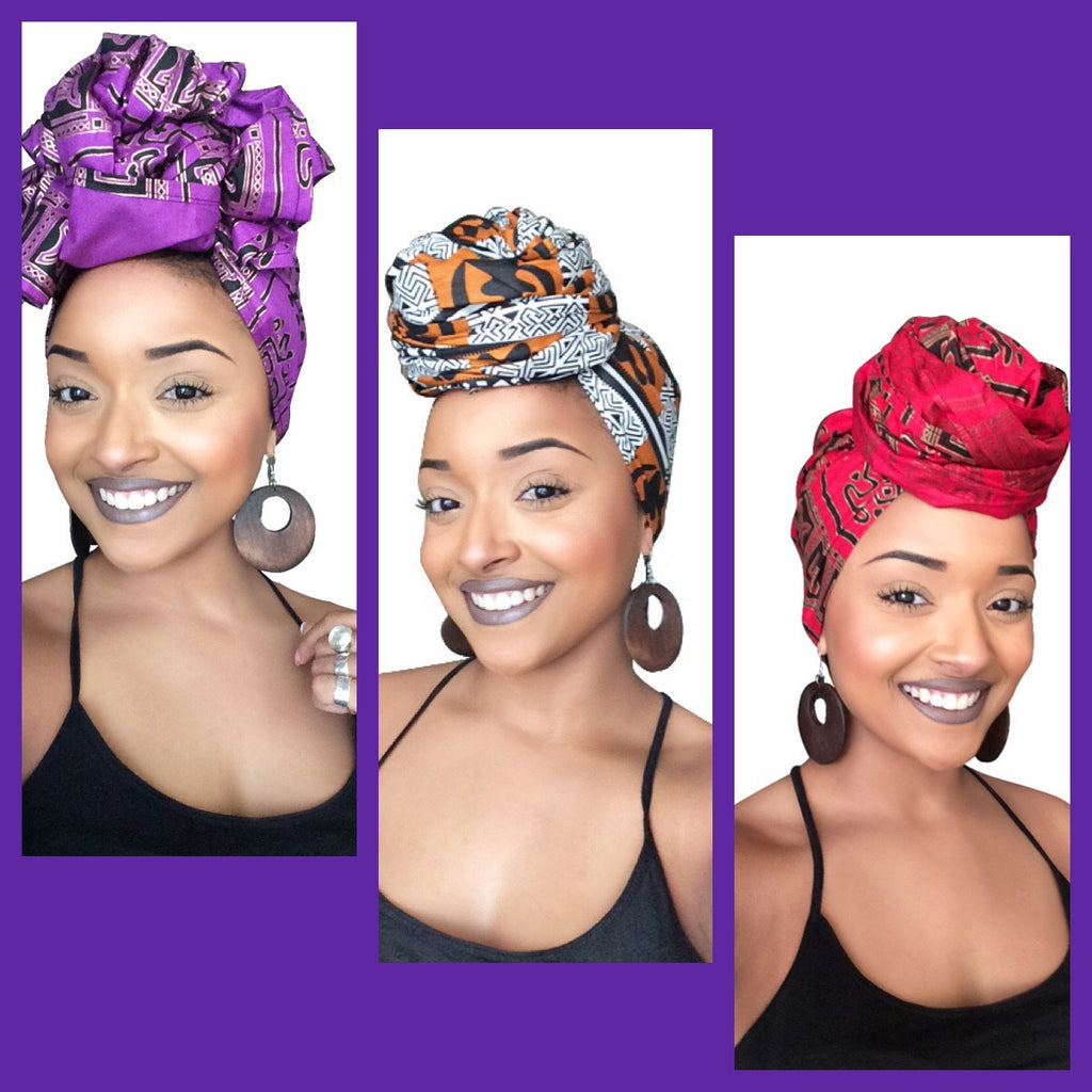 Boss Lady Headwrap Collection - Glamorous Chicks Cosmetics