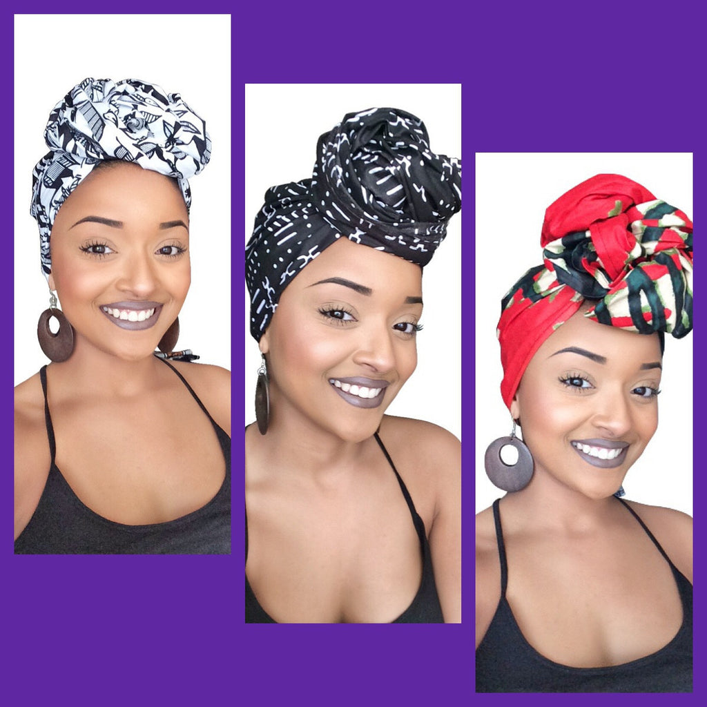 Default type -  - The First Lady Headwrap collection - Glamorous Chicks Cosmetics