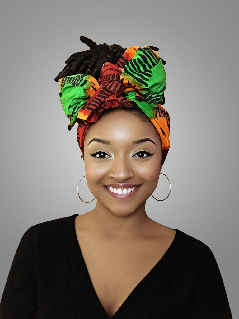 Red, Yellow and Green Best selling Headwrap