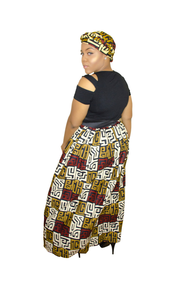 SKIN & HAIR CARE -  - Maxi African Skirt - Glamorous Chicks Cosmetics - 2