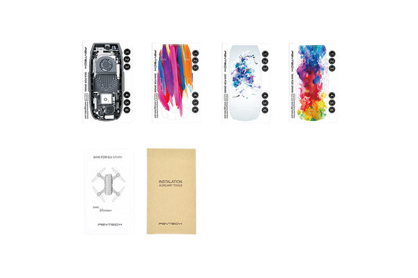 DJI Skin for SPARK 4 pack(D4/D7/D8/TR)