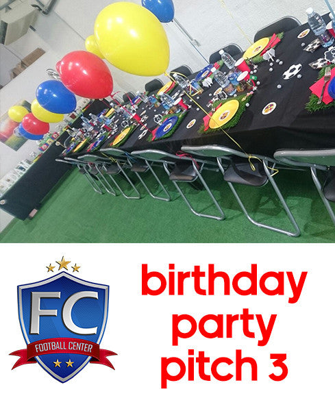 Football Birthday Party Pitch 3