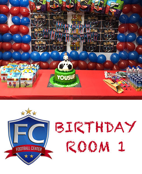 Birthday Room 1 at Football Center Dubai (Weekend)