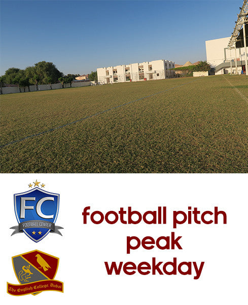 Football Pitch at English College Dubai (Weekday Peak)