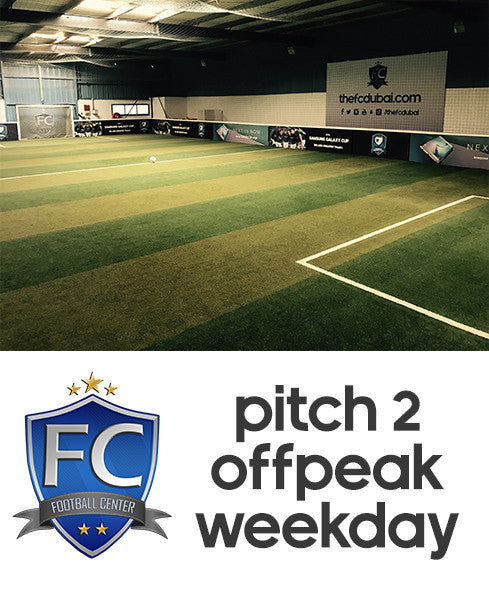 Football Pitch 2 at Football Center Dubai (Weekday Offpeak)