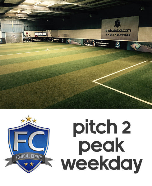 Football Pitch 2 at Football Center Dubai (Weekday Peak)