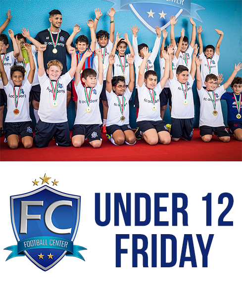 Football Academy, Friday, 11:00-12:00AM (Under 12)