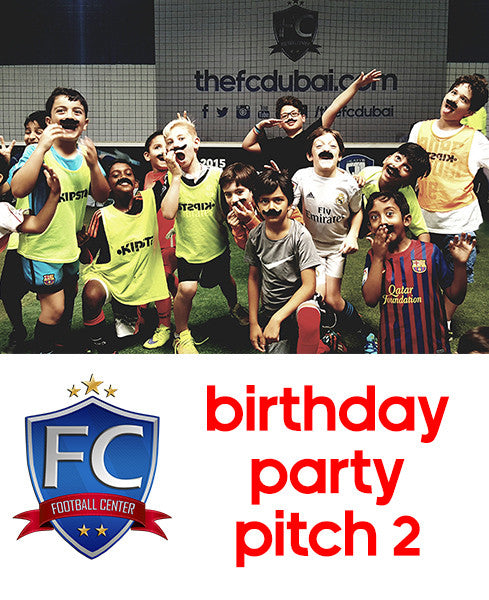 Football Birthday Party Pitch 2