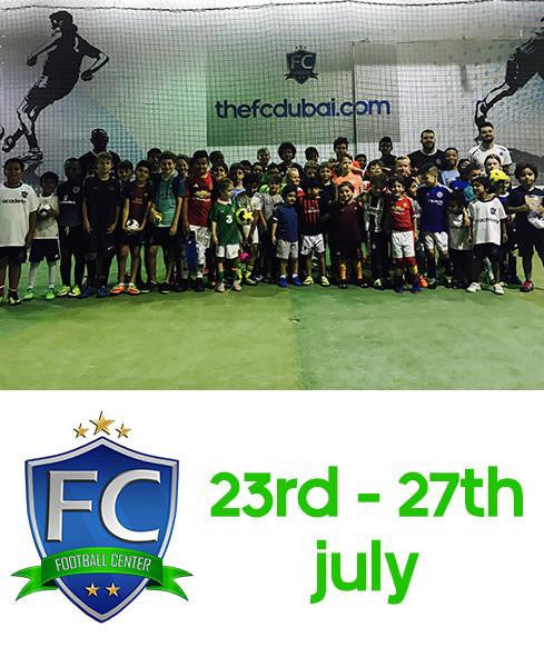 Week 05 Summer 2017 Football Camp at Football Center Dubai