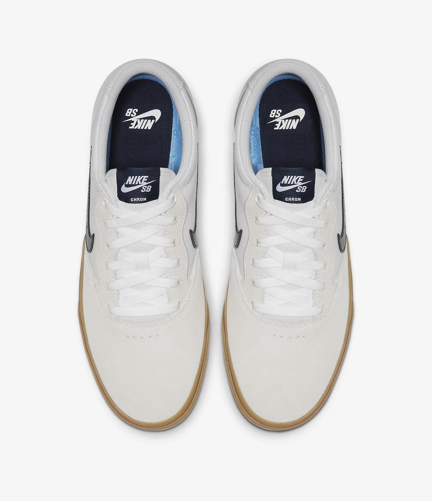 nike sb chron white