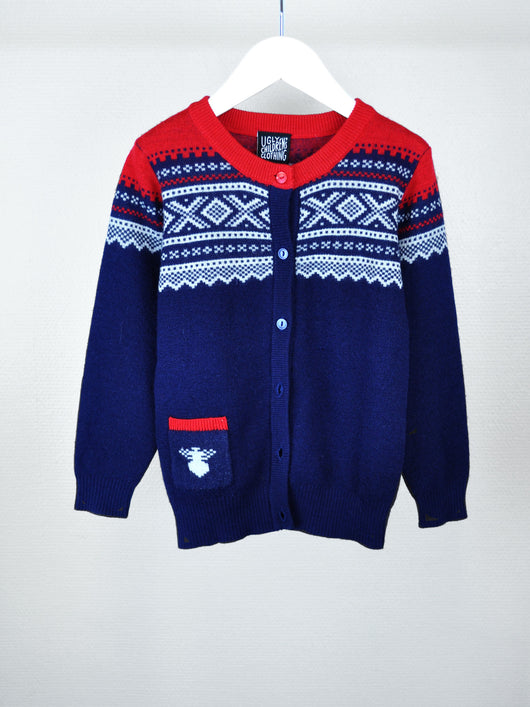 Ugly children's clothing, str 3-4 år