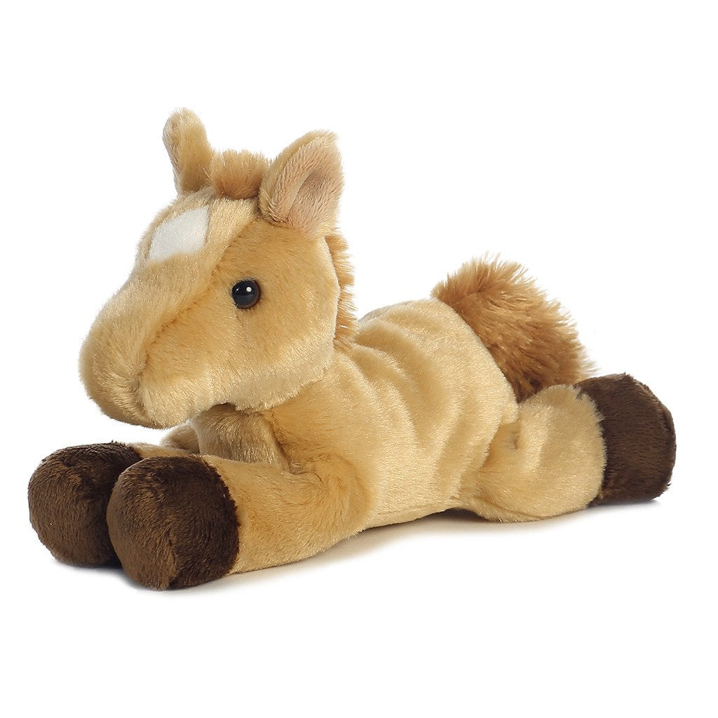 aurora plush horses prancer 16639