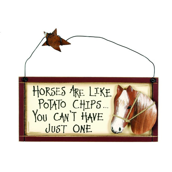 Horses are Like Potato Chips