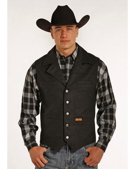 Powder River Men's Wool Vest 98-1176