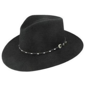 Stetson Diamond Jim 4X Fur Felt  Black