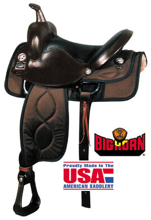 "Big Horn Codura 15"" Saddle"
