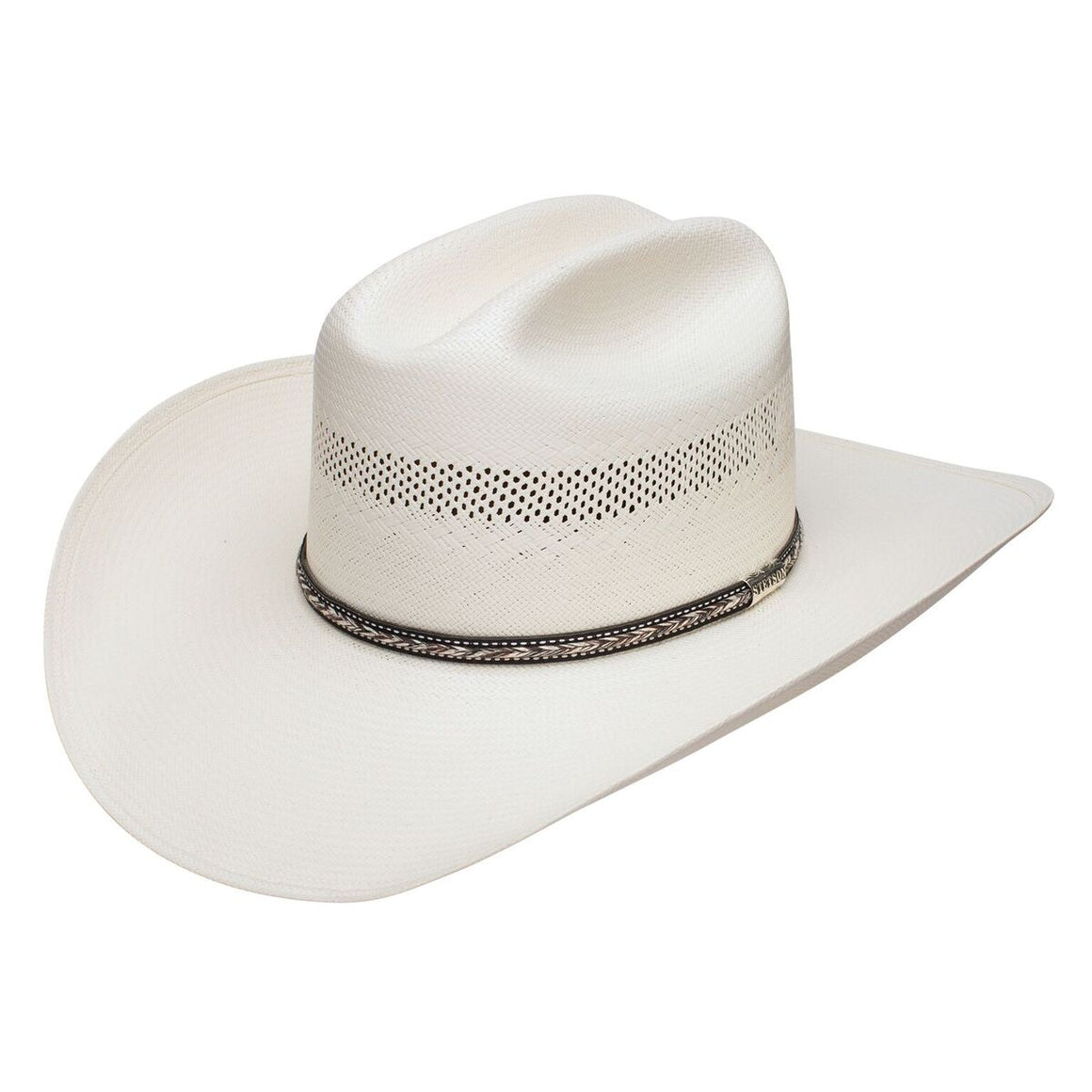 Stetson Grey Star Straw