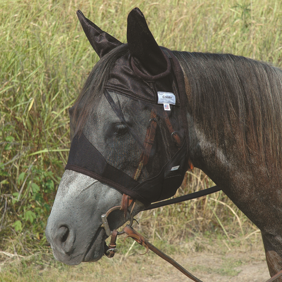 Cashel Quiet Ride Fly Mask Standard with Ears QRASE