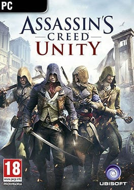 Assassin's Creed Unity PC cover