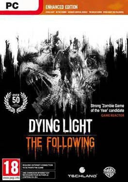 Dying Light The Following Enhanced Edition PC cover