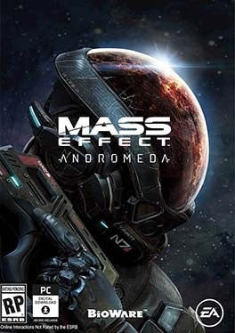Mass Effect Andromeda PC cover