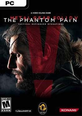 Metal Gear Solid 5 V The Phantom Pain PC cover