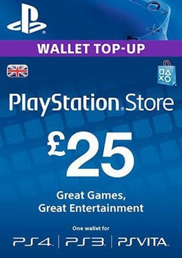 PSN 25 GBP - United Kingdom