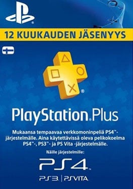 PlayStation PS Plus 12 Kuukauden Jäsenyys - Finnland