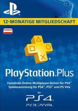 PS Plus 12 months - Austria
