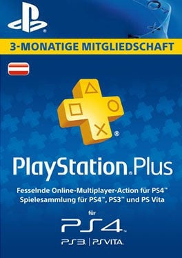 PS Plus 3 months - Austria