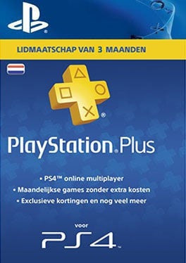 PlayStation PS Plus Lidmaatschap van 3 Maanden - Nederland