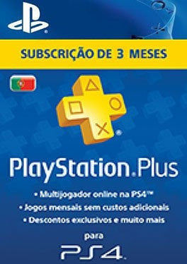 PS Plus 3 months - Portugal