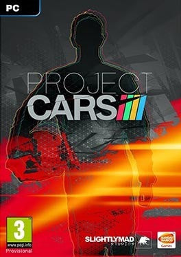 Project CARS PC cover