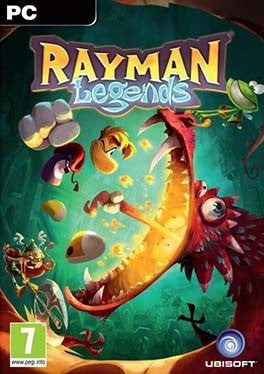 Rayman Legends PC cover