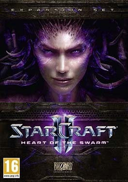 Starcraft 2 Heart of the Swarm PC cover