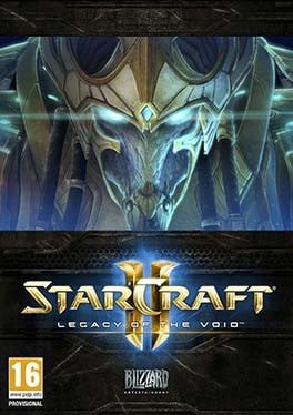 Starcraft 2 Legacy of the Void PC cover
