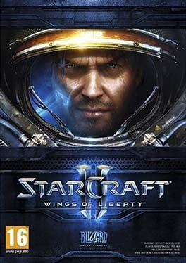 Starcraft 2 Wings of Liberty PC cover