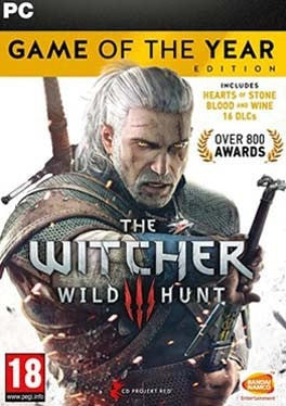 The Witcher 3 Wild Hunt (Game of the Year Edition) PC cover