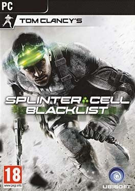 Tom Clancy's Splinter Cell Blacklist PC cover