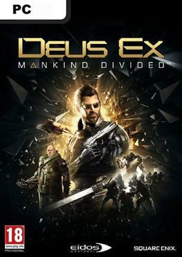Deus Ex Mankind Devided PC cover