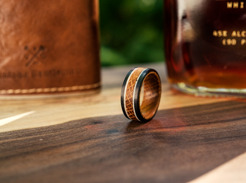 Whiskey Barrel Rings That Tell A Story!