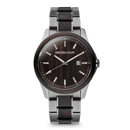 gunmetal watch