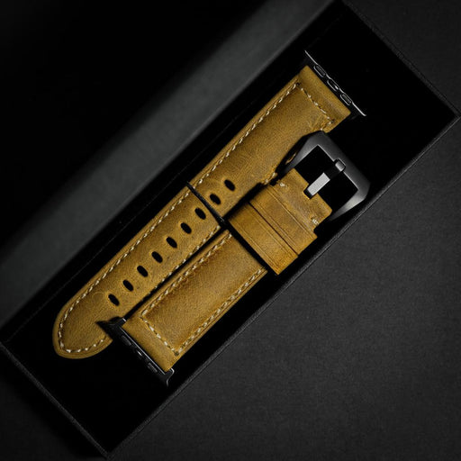 Leather Apple Watch Strap - Classic by Bullstrap