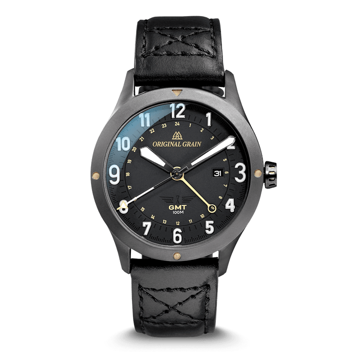Gunmetal & Maple Men's 43mm by Original Grain