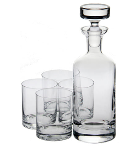 Wellington Double Old Fashioned Decanter Gift Set