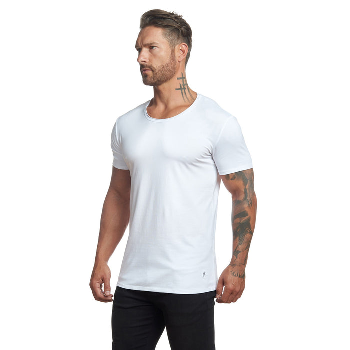 The Essential Extended Slim Fit Tee by WESTON JON BOUCHÉR