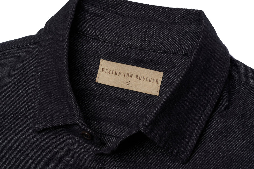 The Untucked Slim Fit Button-Up Shirt by WESTON JON BOUCHÉR