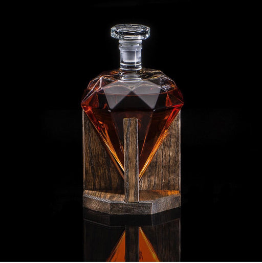 diamond shaped decanter