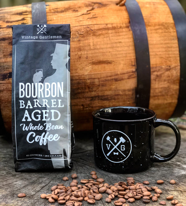 Bourbon Barrel Aged Coffee- 10oz Bag